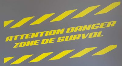 Danger zone de survol